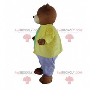 Brown bear costume, Little brown bear mascot - Redbrokoly.com