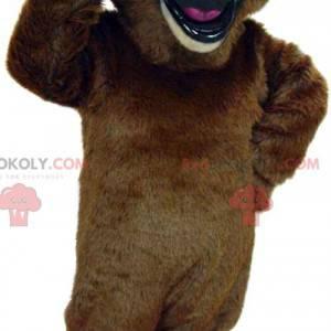 Riesiges Braunbärenmaskottchen - Redbrokoly.com