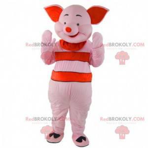 Mascot Piglet, il famoso maiale rosa di Winnie the Pooh -