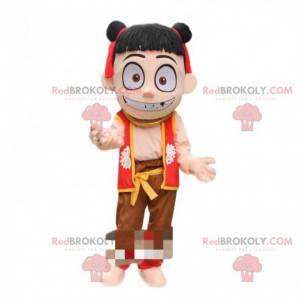 Mascot Nezha, famous manga demon, famous costume -