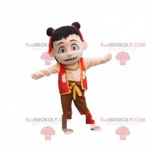 Kostüm des berühmten Dämonenkindes Ne Zha, Karikatur -