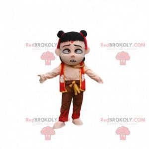 Mascot Ne Zha, demon child, Chinese film character -