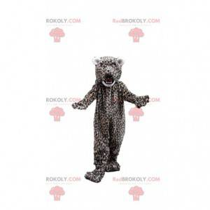 Leopard mascot, plush feline costume - Redbrokoly.com