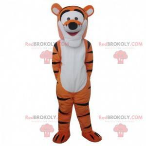 Mascote Tigger, famoso tigre laranja no Ursinho Pooh -