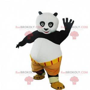 Mascote Po Ping, o famoso panda do panda Kung fu -