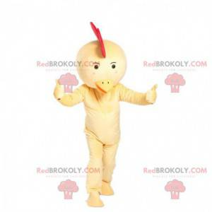 Kyllingmaskott, høne kostyme, gul fugl - Redbrokoly.com