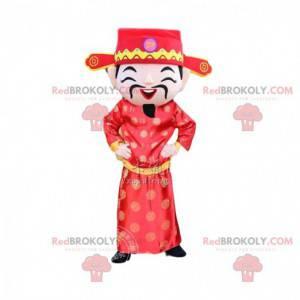 Asian man costume, god of wealth, Asian mascot - Redbrokoly.com