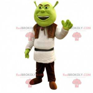 Mascota de Shrek, famoso ogro verde de dibujos animados del