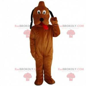 Maskottchen von Pluto, dem berühmten Hund von Mickey Mouse -