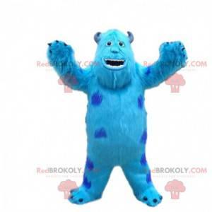 Maskot Sully, slavné modré monstrum ve společnosti Monsters