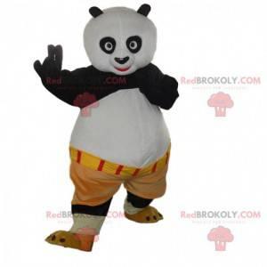 Costume of Po Ping, the famous panda in Kung fu panda -
