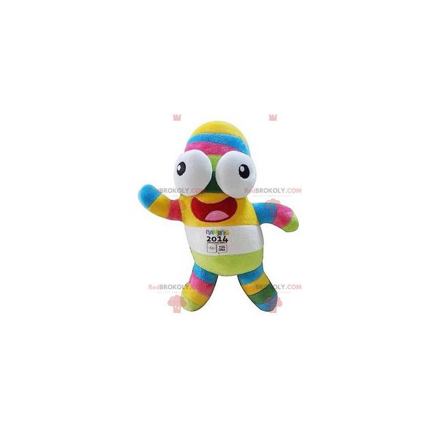 Vícebarevný maskot olympijských her v Nanjing 2014 -
