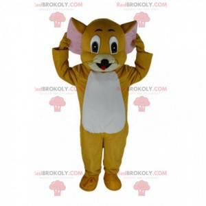 Mascote Jerry, o famoso rato do desenho animado Tom e Jerry -