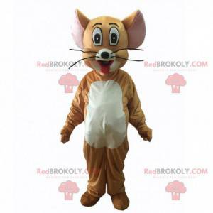 Costume of Jerry, famous mouse from the cartoon Tom & Jerry -