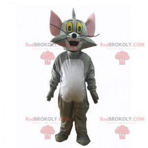Mascotte Tom, il famoso gatto grigio del cartone animato Tom &