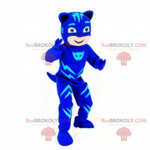Mascot boy disguised as a cat, Catwoman costume - Redbrokoly.com