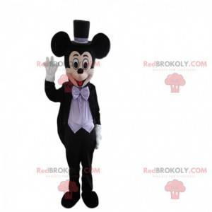 Maskot Mickey Mouse, slavná myš od Walta Disneyho -