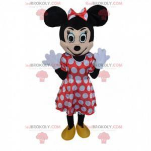 Minnie maskot, berømt mus og ledsager af Mickey Mouse -