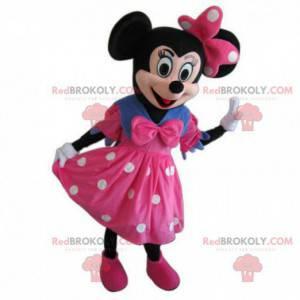 Minnie mascotte, beroemde muis en metgezel van Mickey Mouse -