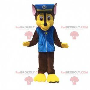 Paw Patrol cartoon police dog mascot - Redbrokoly.com
