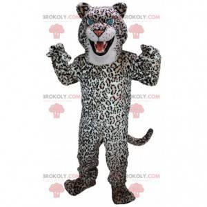 Mascote leopardo, fantasia felina de pelúcia - Redbrokoly.com