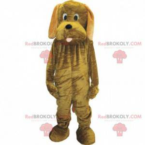 Customizable brown dog mascot, plush dog - Redbrokoly.com