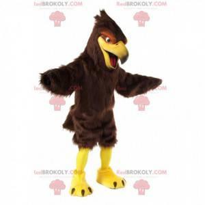 Mascote de falcão, fantasia de abutre, fantasia de águia -