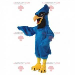 Maskotka Steller's Jay, kostium niebieskiej sójki, ptak -