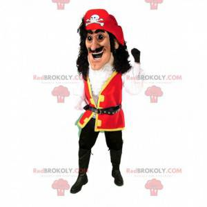 Mascotte pirata, costume da capitano pirata - Redbrokoly.com