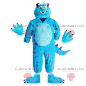 La mascota Sully, el famoso monstruo azul de Monsters, Inc. -