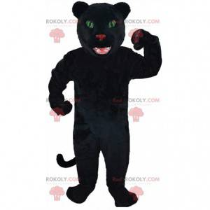 Mascote de pantera negra, fantasia de felino gigante -