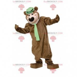 Yogi the bear mascot, famous cartoon character - Redbrokoly.com
