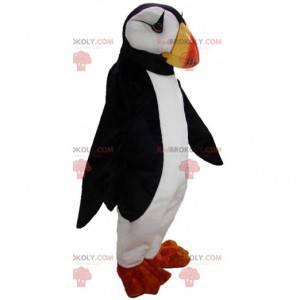 Mascote de papagaio-do-mar, fantasia de papagaio-do-mar -