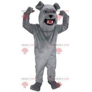 Obří buldok maskot, kostým plyšového šedého psa - Redbrokoly.com