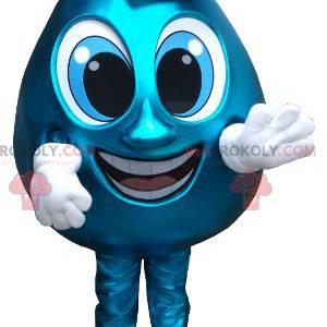 Kjempeblå vanndråpe maskot - Redbrokoly.com