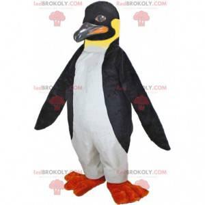 Mascote do pinguim imperador, fantasia de pinguim -