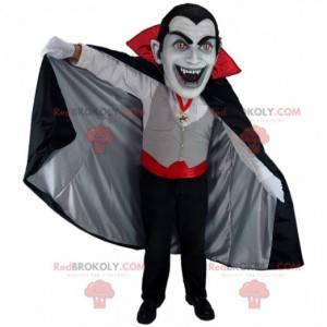 Vampier mascotte hoofd, vampierkostuum - Redbrokoly.com