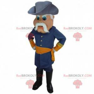 Mascot algemene oorlog, soldaat, legerkostuum - Redbrokoly.com