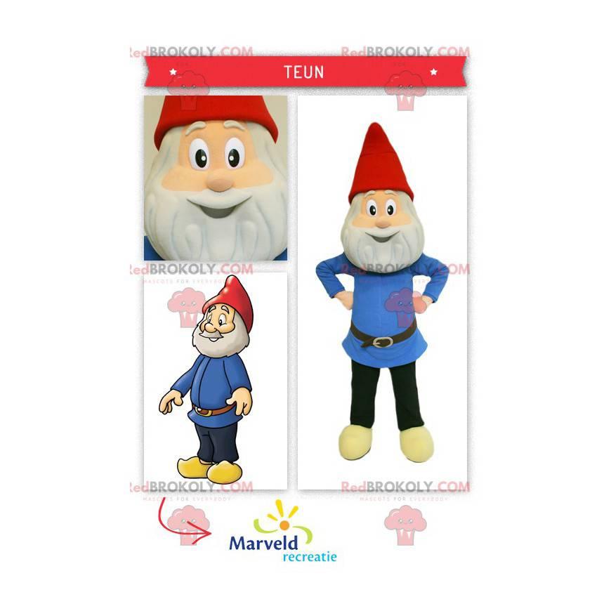Mascot of the traditional garden gnome - Redbrokoly.com