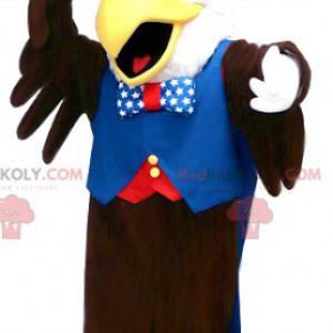 Black and white eagle mascot republican outfit - Redbrokoly.com