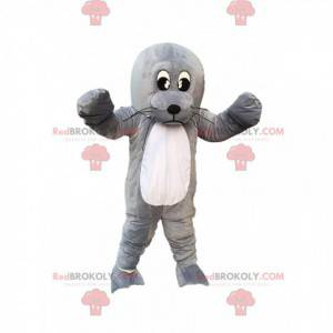 Mascot sea lion, giant gray sea lion, sea lion costume -