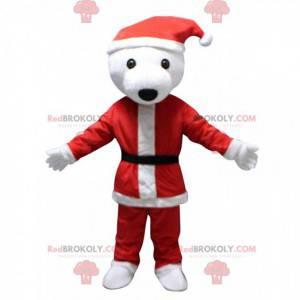 Weihnachten Teddybär Maskottchen, Weihnachtskostüm -