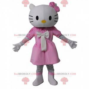 Mascota de Hello Kitty, el famoso gato de dibujos animados -
