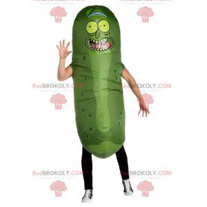 Inflatable pickle mascot, giant pickle costume - Redbrokoly.com