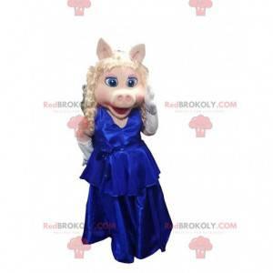 Maskot for den berømte Miss Piggy, Piggy Muppets tøs -