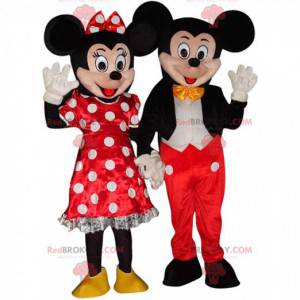 2 mascotte di Topolino e Minnie, costumi Disney - Redbrokoly.com