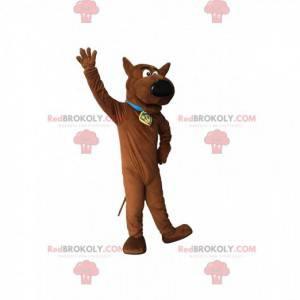 Mascote Scooby -Doo, o famoso cão alemão de desenho animado -