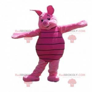 Mascot Piglet, el famoso cerdo rosa de Winnie the Pooh -