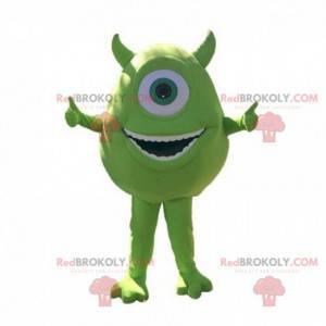 Bob Razowski mascot of Monsters and company - Redbrokoly.com