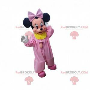 Bebê mascote de Minnie Mouse, famoso rato da Disney -